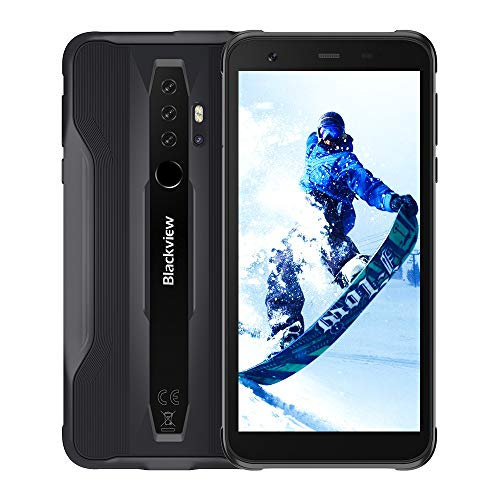 Blackview BV6300 Pro SIMフリー スマホ本体 Android 10 タフネススマートフォン 6GB RAM +128GB ROM Helio P70 オクタコア 11.6mm薄型ボディ 防水スマホ 防塵 耐衝撃4380mAhバッテリー 16MP+8MP+2MPリアカメラ 13MPインカメラ 4G デュアルSIM ワイヤレス充電 18W急速充電対応 1年間保証付き