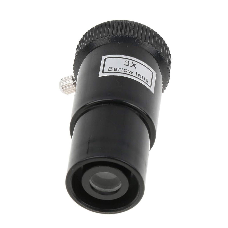 Prettyia 3X Magnification Barlow Lens 0.965'' / 24.5mm Plastic for Telescope Eyepiece flfvurx426872