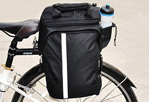 Vélo arrière étagère Sac à dos Package Sac de queue de vélo de montagne Vélo Accessoires pour vélo