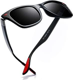 Kimorn Men's Polarized Sunglasses Driving Square Frame Brand Designer Classic K0622
