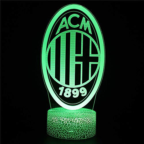 Lámpara de ilusión 3D para niña lámpara de Navidad ACM led luz de noche lindo cambio de color 16 luz 3D regalo de Navidad habitación de bebé luz