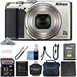 Nikon COOLPIX A900 Digital Camera (Silver) + 32GB Memory + Ultimate Starter Bundle