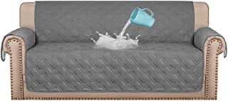 100% Waterproof Sofa Covers Couch Covers Sofa Slip Covers Quilted Sofa Protectors from Pets/Dogs/Kids with Non Slip Backin...