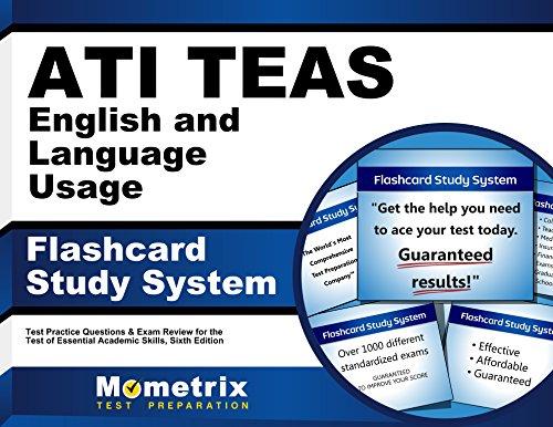 51ycDOwlxiL - ATI TEAS English and Language Usage Flashcard Study System: TEAS 6 Test Practice Questions & Exam Re