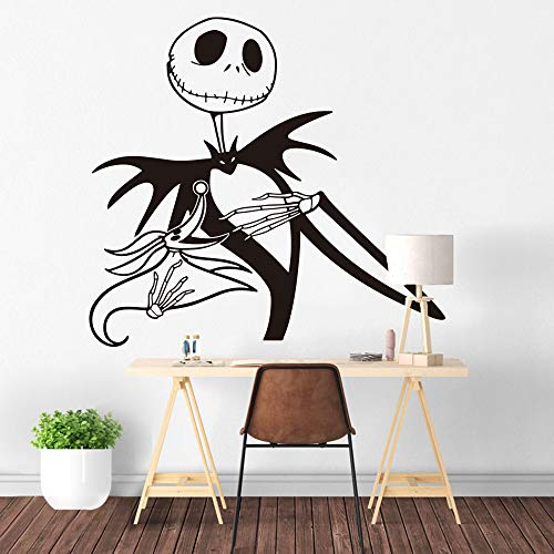 Wall Tattoo Jack from Nightmare before Christmas Mural Wall Stickers Tim Burton