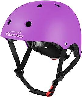 KAMUGO Kids Adjustable Helmet, Suitable for Toddler Kids Ages 5-8/8-14 Boys Girls, Multi-Sport Safety Cycling Skating Scoo...