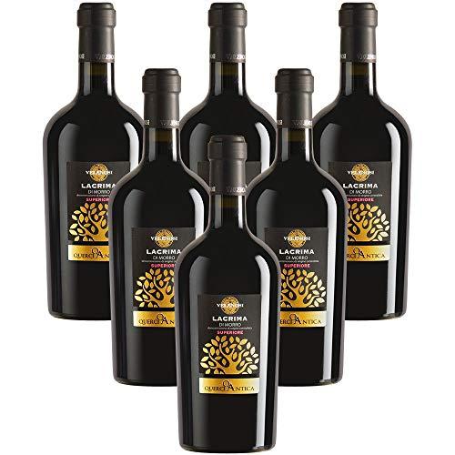 Lacrima di Morro D'Alba D.O.C. Superiore vino rosso VELENOSI (6 bottiglie 75 cl.)