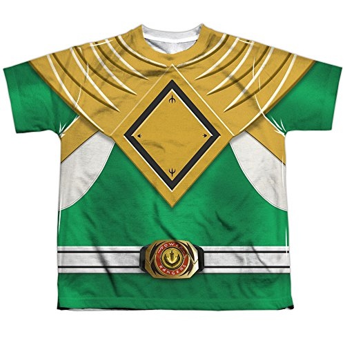 Youth: Power Rangers - Green Ranger Kids T-Shirt Size YS