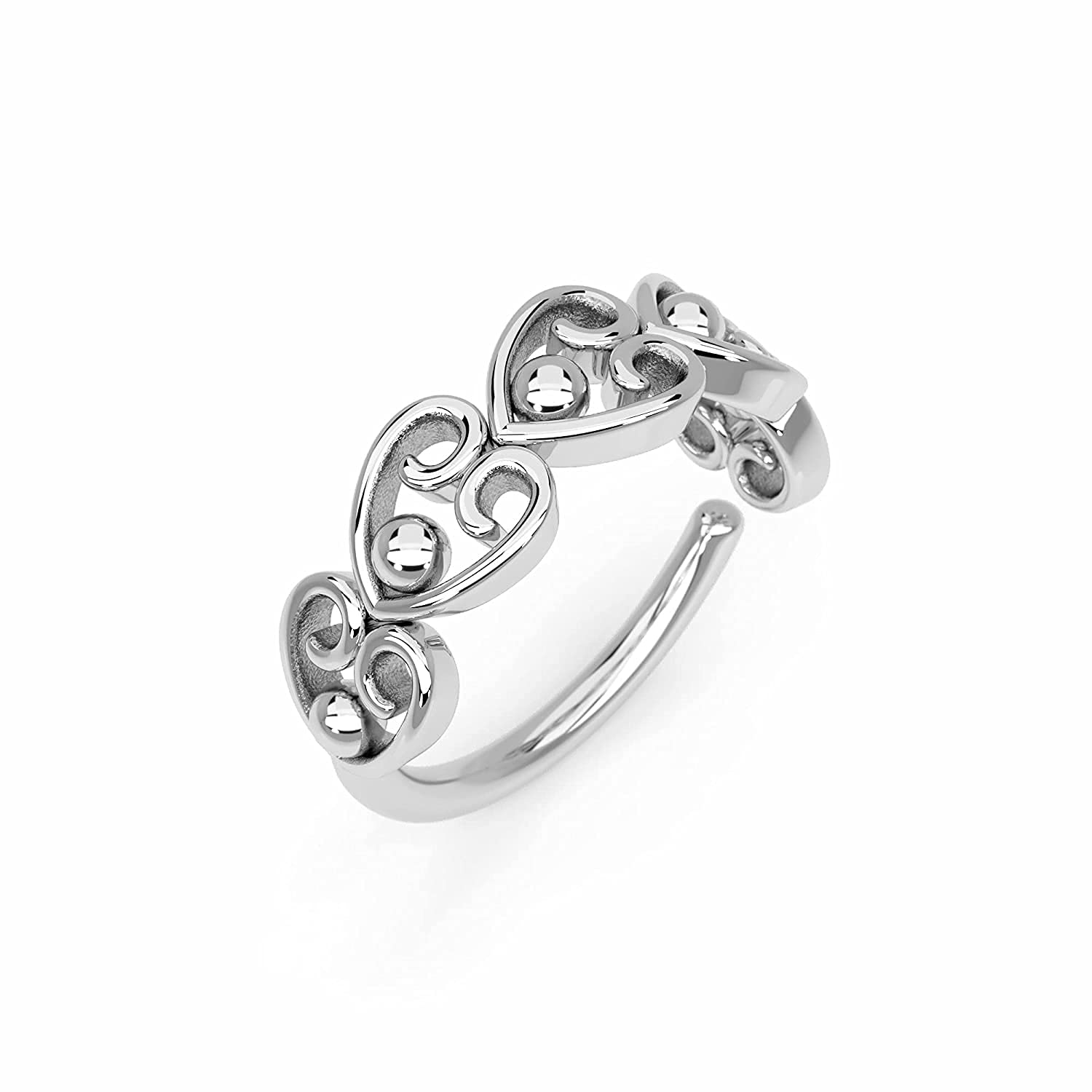 Nose Excellence Ring Sterling Silver Indian Unique Hoop P 5 popular Ethnic Boho
