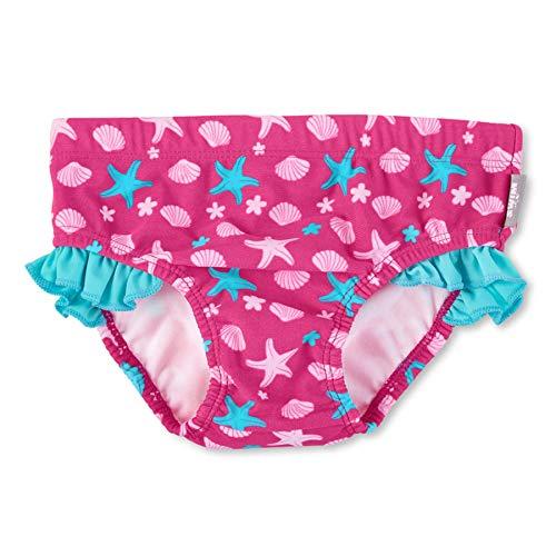 Sterntaler Baby - Mädchen Badehose mit Windeleinsatz, UV-Schutz 50+, Alter: 2-3 Jahre, Größe: 86/92, Farbe: Magenta