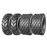 Maxauto 22x7-11 22x10-9 ATV Tires 22x7x11 Front & 22x10x9 Rear UTV Knobby Sport Tires ATV Mud Sand Tires 6Ply Set of 4
