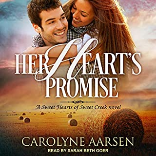 Her Heart's Promise     Sweet Hearts of Sweet Creek Series, Book 2              By:                                                                                                                                 Carolyne Aarsen                               Narrated by:                                                                                                                                 Sarah Beth Goer                      Length: 6 hrs and 40 mins     Not rated yet     Overall 0.0