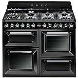 Smeg TR4110BL1 - Cocina (Cocina independiente, Negro, Botones,...