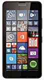 Microsoft Lumia 640 LTE (4G & 3G) Smartphone, Display HD-IPS 5 Pollici, Processore Quad-Core 1,2 GHz, Fotocamera 8 MP, Batteria 2500 mAh, Windows Phone 8.1, Nero [Germania]
