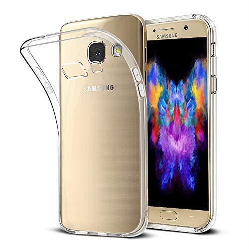 Bodyguard Handyhülle kompatibel mit Samsung Galaxy A3 2017 - Flexible Samsung Galaxy A3 2017 Hülle Silikon Transparent, Ultra Klar TPU Case Durchsichtige Handytasche Schutzhülle
