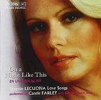 レクオーナ歌曲集 (Ernesto Lecuona: Love Songs) [Import]