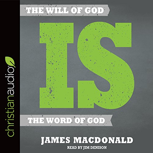 The Will of God Is the Word of God audiobook cover art
