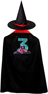 Chance The Rapper Christmas Halloween Child Wizard Witch Cloak Cloak and Hat Red