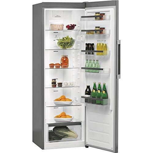 Réfrigérateur 1 porte Whirlpool SW8AM2QX - Réfrigérateur 1 porte - 363 litres - Froid brassé - Dégivrage automatique - Inox - Classe A++ / Pose libre