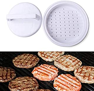 Hamburger Meat - 1pc Diy Plastic Stuffed Hamburger Meat Press Molding Burger Makers Barbecue Mould With Cover - Machine Good Grass Patty Strainer Tool Spatula Burger Presser Cook Grinder Stuff