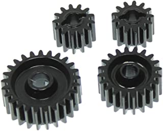 Redcat Racing RER11474 CNC Steel Gear Set for Gen 8 Scout II Transmission & Transfer Case, Black
