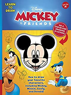 Learn to Draw Disney Mickey & Friends: How to draw your favorite characters, including Mickey, Minnie, Goofy, and Donald! (Licensed Learn to Draw)