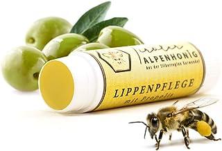 Lippenpflege Propolis, 100% natürlicher Lippenbalsam mit Bienenwachs und Olivenöl, Lippenstift von Tiroler Alpenhonig hergestellt in den Tiroler Bergen 1x Lippenpflegestift