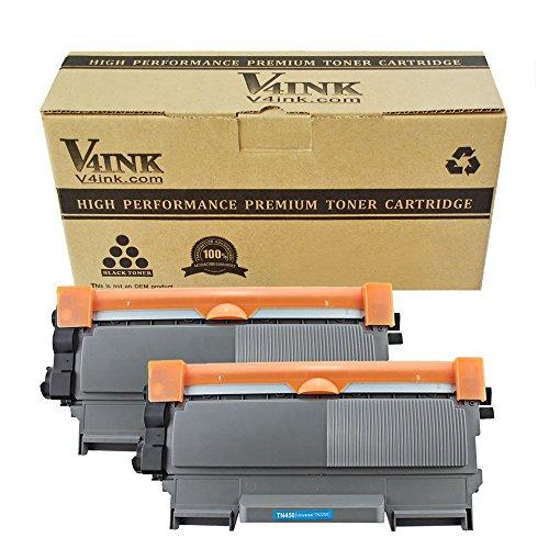 V4ink 2 x Compatible Cartucho de tóner TN2220 para Brother