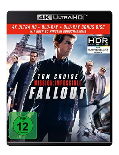 Mission: Impossible 6 - Fallout (4K Ultra HD) (+ Blu-ray 2D) (+ Bonus Blu-ray)