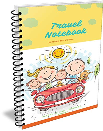 Travel notebook: Travel Planner Journal – Travel Notebook and Vacation Journal, Size 6*9 (English Edition)