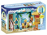 PLAYMOBIL Surf Shop Play Box Building Kit [並行輸入品]