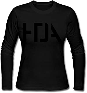 Women's Fashion How To Destroy Angels Band Logo Long-sleeve Tee Shits