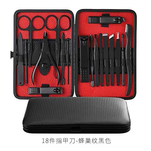 lime à ongles coupe ongle Couteau de pédicure domestique nail groove grey manucure tool set-18 King Kong Black