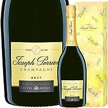 NV キュヴェ ロワイヤル ブリュット ジョセフ ペリエ ギフト ボックス 正規品 シャンパン 辛口 白 ミモザ 化粧箱 GIFTBOX 750ml Joseph Perrier Cuvee Royale Brut Mimosa BOX
