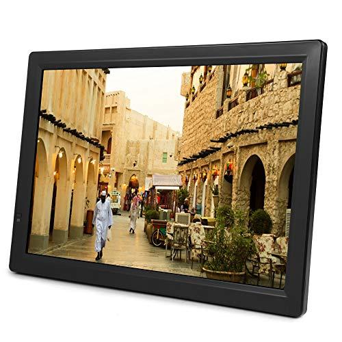 14Inch Portabel ATSC Digital Television 1080P HD HDMI Video Player Support USB Port,SD/MMC Card,U Disk,MKV, MOV, AVI, WMV, MP4, FLV, MPEG1-4, RMVB, 1080P Video MP3 for Outdoor, Home, Car,Bathroom