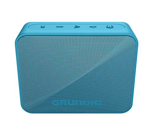 Grundig GBT Solo Blue - Bluetooth Lautsprecher, 30 Meter Reichweite, mehr als 20 Std. Spielzeit