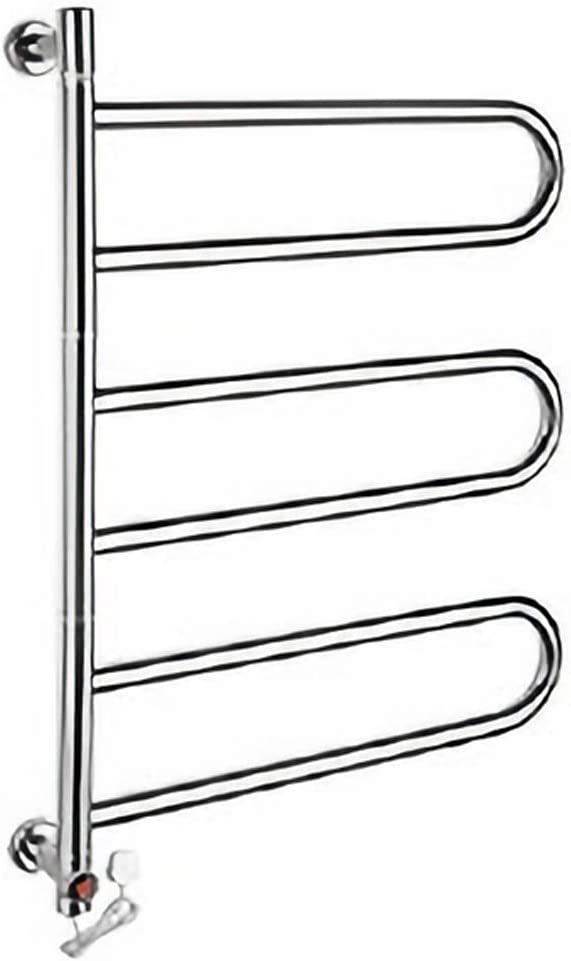 Electric Towel Popular popular Curved Radiator Heated Rotatable Super special price Bath 180°