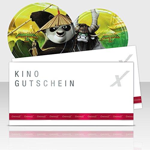 CinemaxX KungFu Panda Group Filmdose mit 2 Kinogutscheinen