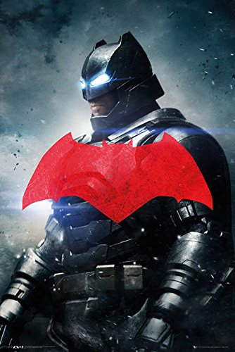 Batman v Superman Batman Solo Film Movie Poster Plakat Druck - Grösse 61x91,5 cm