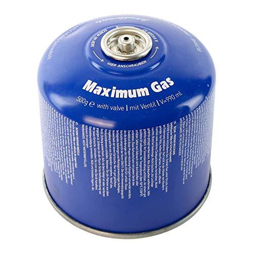 MaXimum Schraubkartusche Gaskartuschen Camping Gas 500g (1)