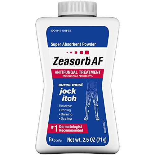 Zeasorb Super Absorbent Antifungal Treatment Powder for Jock Itch 2.5 Ounce (Pack of 1)
