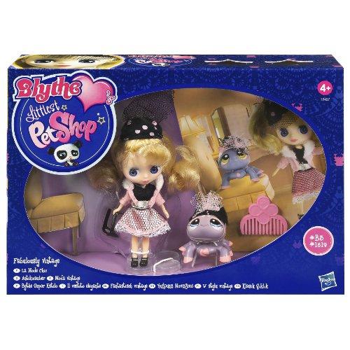 Hasbro Littlest Pet Shop Blythe – Kits de Figures de Jouet pour Enfants (Multicolore)