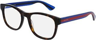GG0004O, Plastic Square Eyeglasses, GG 0004O, 53mm