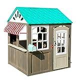 Casetta da Gioco da esterni Coastal Cottage KidKraft 419 con gazebo a...