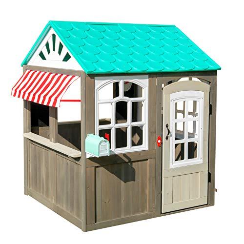 KidKraft 419 Casita de juegos para jardín y exterior al aire libre...