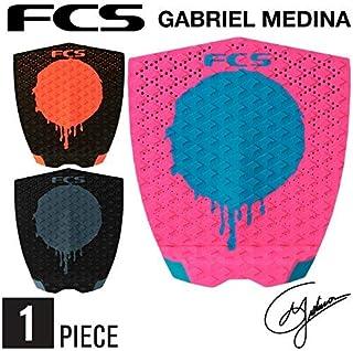 デッキパッド ショートボード用 FCS GABRIEL MEDINA ガブリエルメディーナ 1ピース