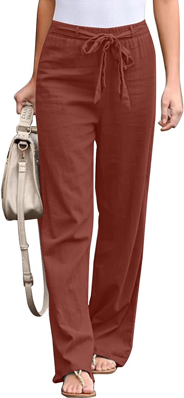 BLENCOT Women's Fashion Solid Color Elastic Ranking TOP2 Waist Drawstring Overseas parallel import regular item Pan