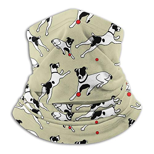 Best Jack Russell Terrier Neck Warmer Gaiter For Men Women Face Mask Headband Bandana Scarf Headwear Winter Balaclava For Ski Running Motorcycle