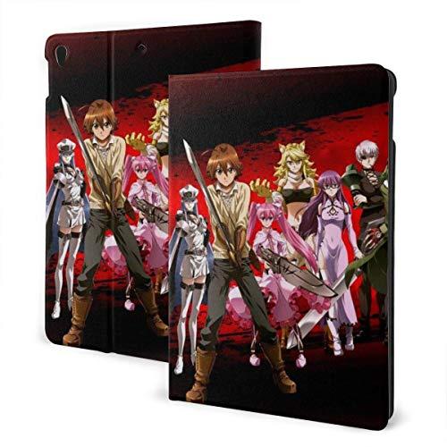 Case For iPad iPad Case Ipad cover Akame Ga Kill! Smart Stand Back Cover Anti-Scratch Auto Wake/Sleep Protective Case