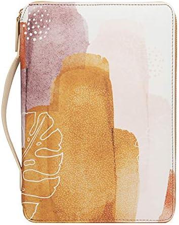 VNOM Travel Portfolio Organizer Zipper Portfolio Bag with Handle Waterproof Portfolio Case for product image